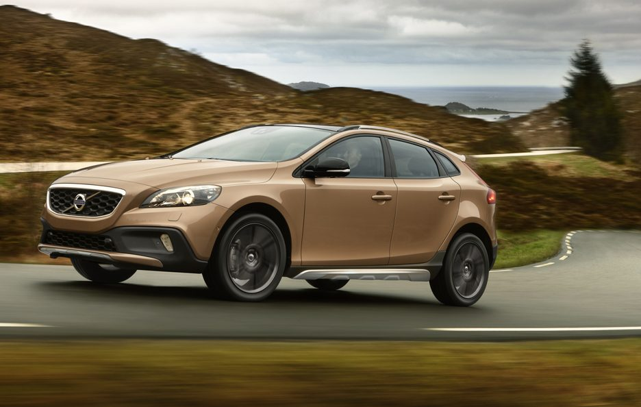 Volvo V40 Cross Country - Laterale in motion