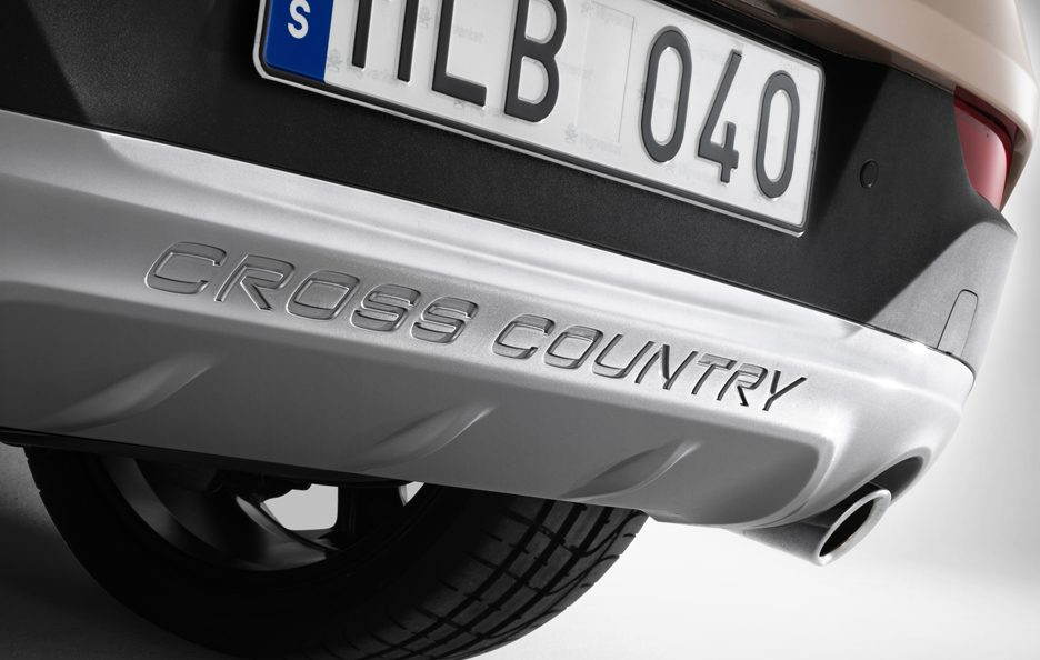 Volvo V40 Cross Country - Paraurti posteriore