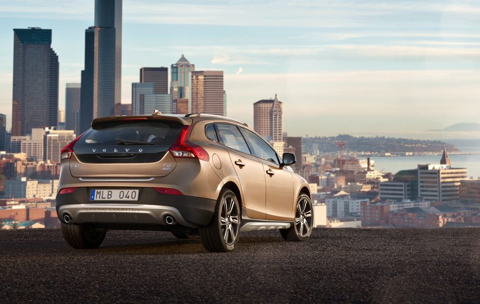 Volvo V40 Cross Country - Profilo posteriore
