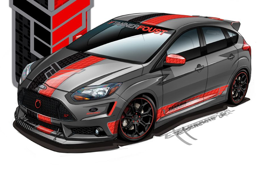 Ford Focus ST SEMA 2012 - Tanner Foust Racing