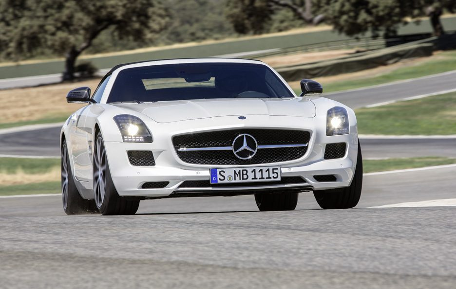 Mercedes SLS AMG GT Roadster - Muso