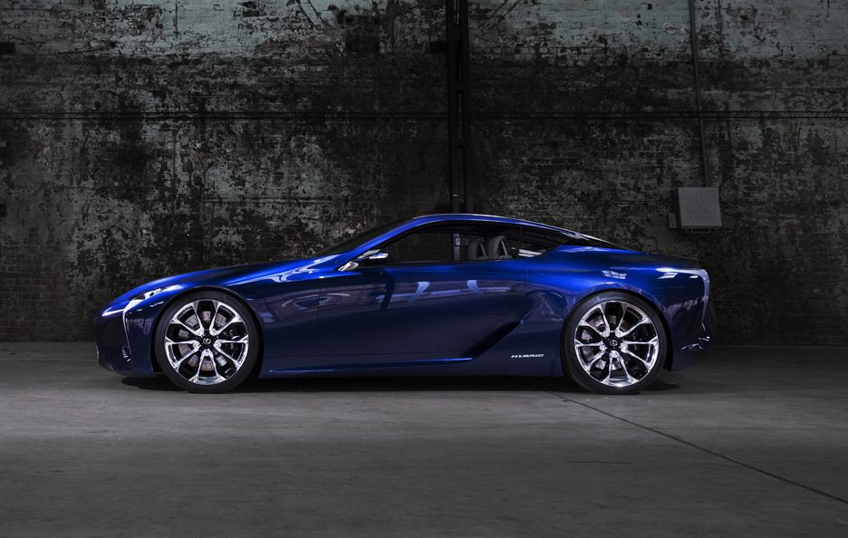 Lexus LF-LC Blue - Laterale
