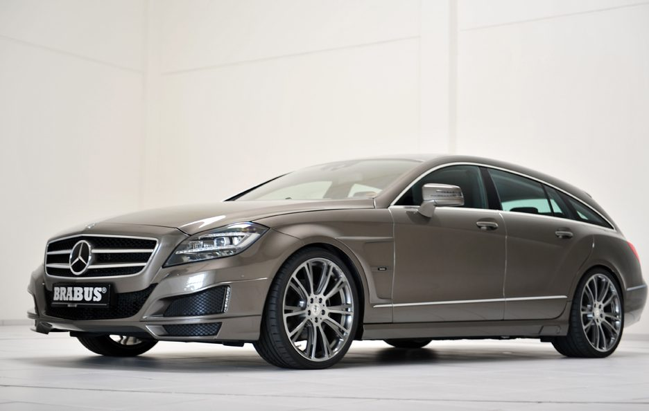 Mercedes CLS Shooting Brake by Brabus - Profilo frontale basso