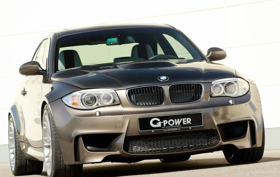 BMW Serie 1 M Coupe by G-Power - Frontale