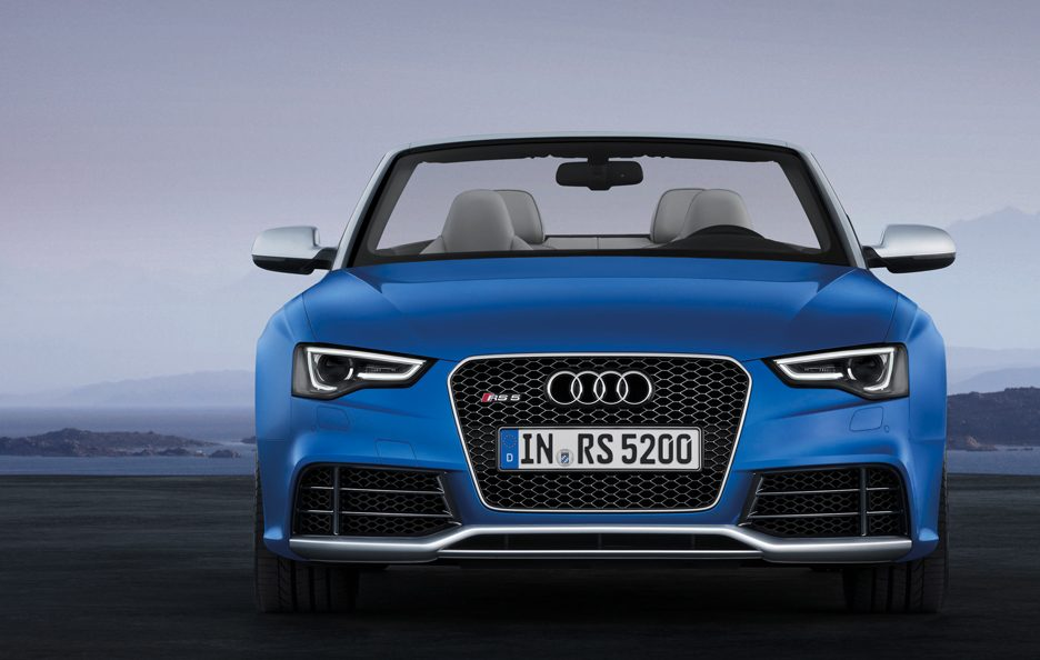 Audi RS5 Cabrio frontale