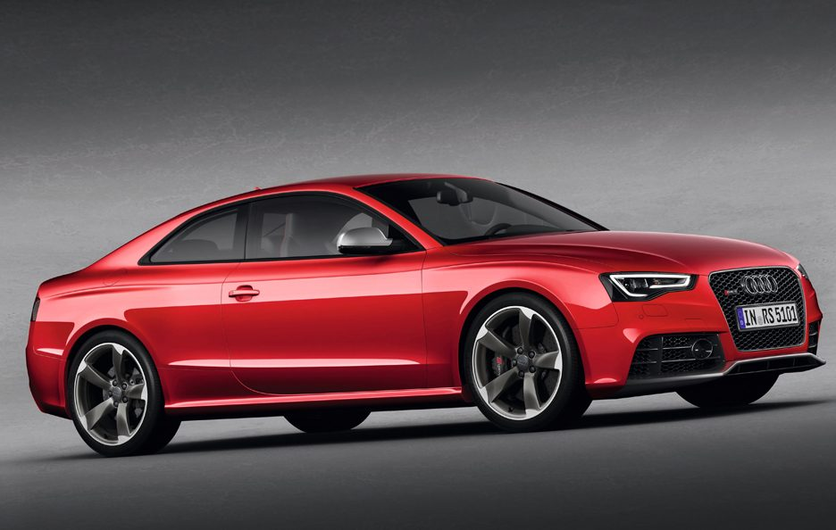 Audi RS5 restyling