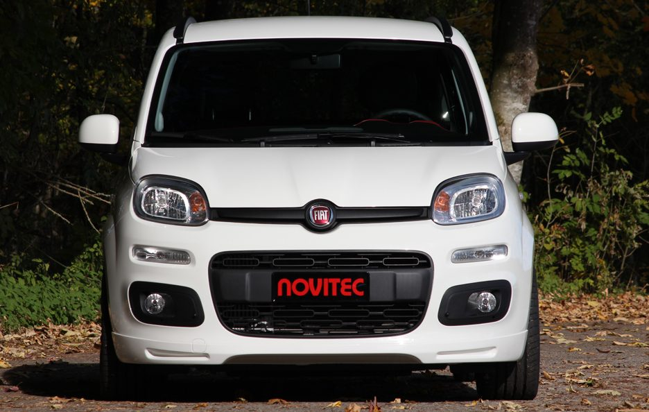 fiat panda by novitec tuning panoramauto. Black Bedroom Furniture Sets. Home Design Ideas