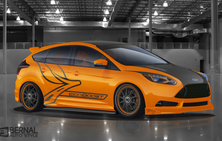 Ford Focus ST SEMA 2012 - Bojix Design