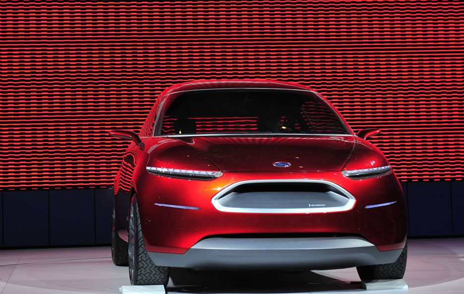 Ford Start Concept frontale