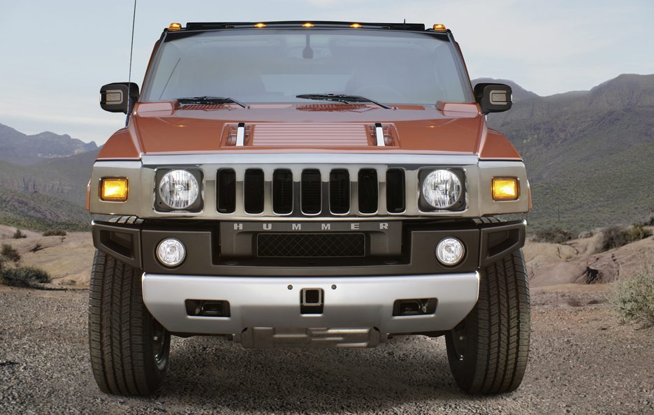Hummer H2 frontale