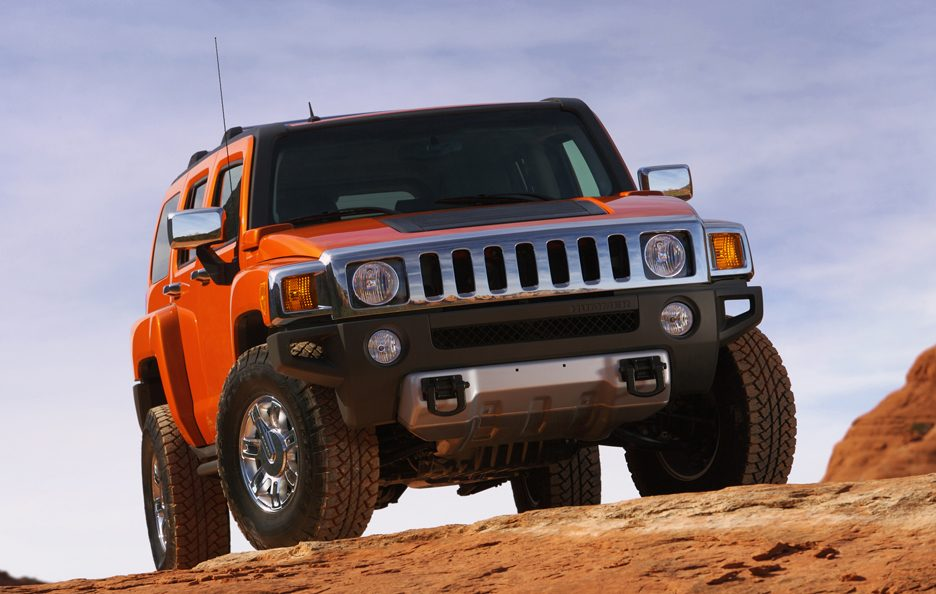 Hummer H3 frontale