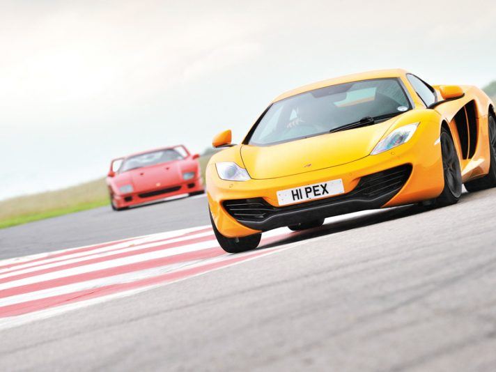 McLaren MP4-12C vs Ferrari F40 2