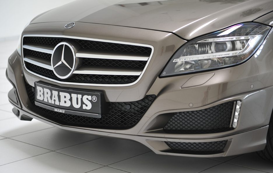 Mercedes CLS Shooting Brake by Brabus - Calandra