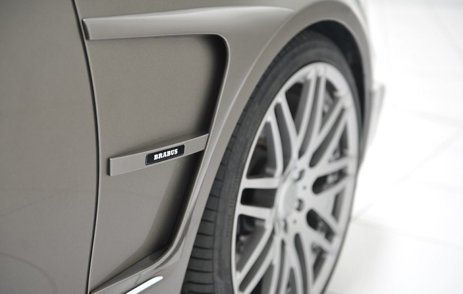 Mercedes CLS Shooting Brake by Brabus - Dettagli prese d'aria