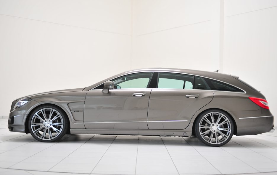 Mercedes CLS Shooting Brake by Brabus - Laterale