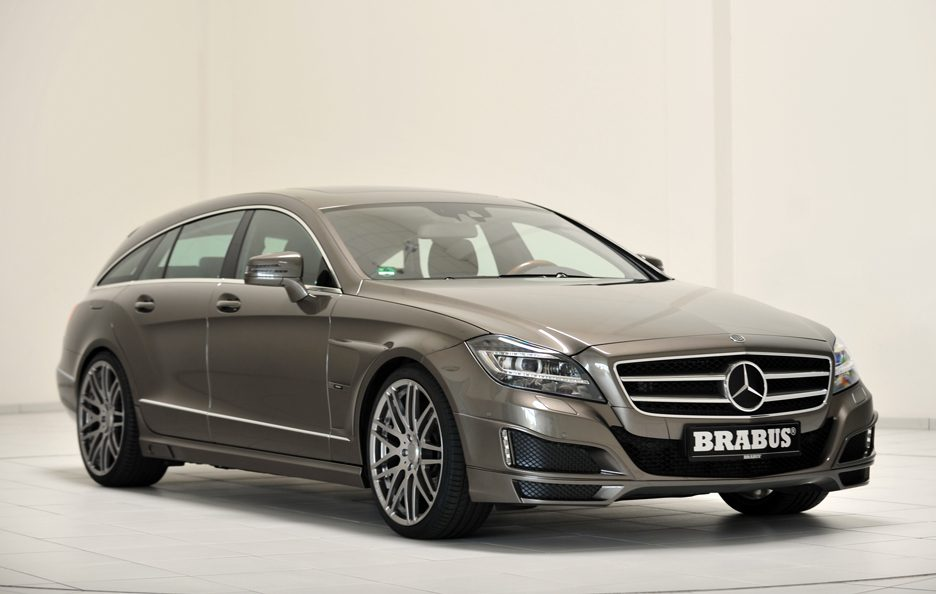 Mercedes CLS Shooting Brake by Brabus - Linee