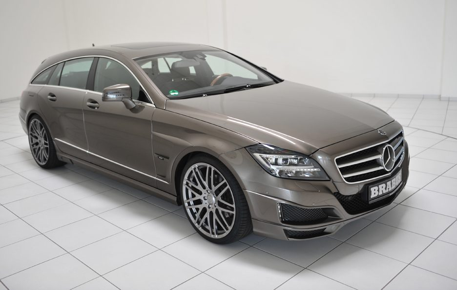 Mercedes CLS Shooting Brake by Brabus - Linee anteriore