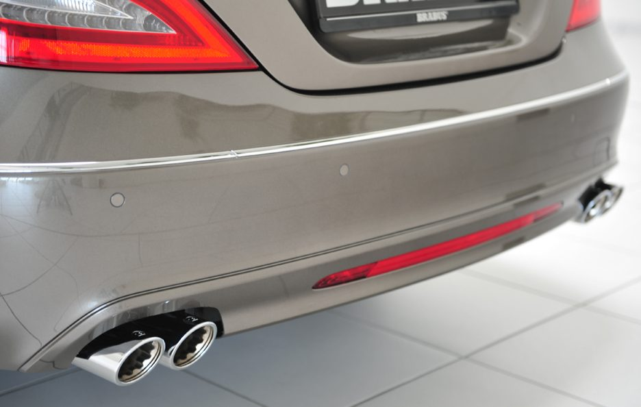 Mercedes CLS Shooting Brake by Brabus - Paraurti posteriore