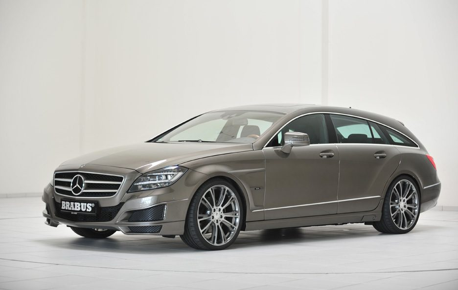 Mercedes CLS Shooting Brake by Brabus - Profilo