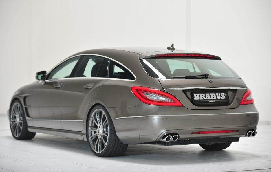 Mercedes CLS Shooting Brake by Brabus - Profilo posteriore