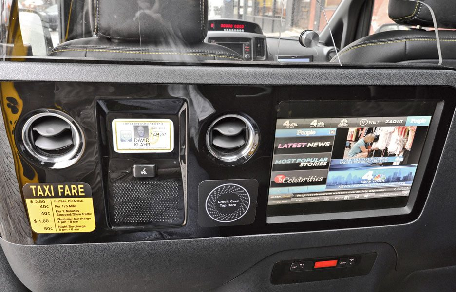 Nissan New York City Taxi - Il sistema multimediale