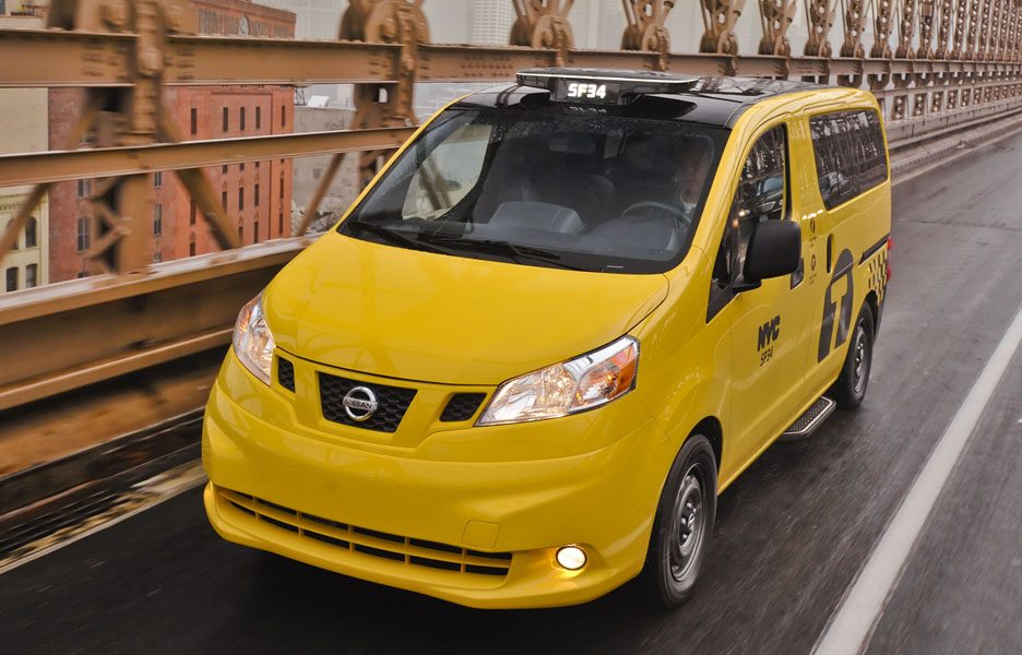 Nissan New York City Taxi - Vista frontale