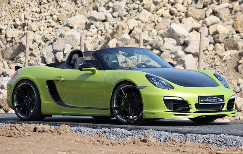Porsche Boxster e Boxster S by Speed Art - 11