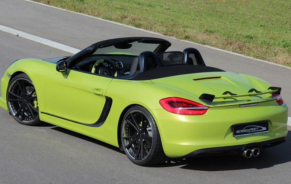 Porsche Boxster e Boxster S by Speed Art - 15