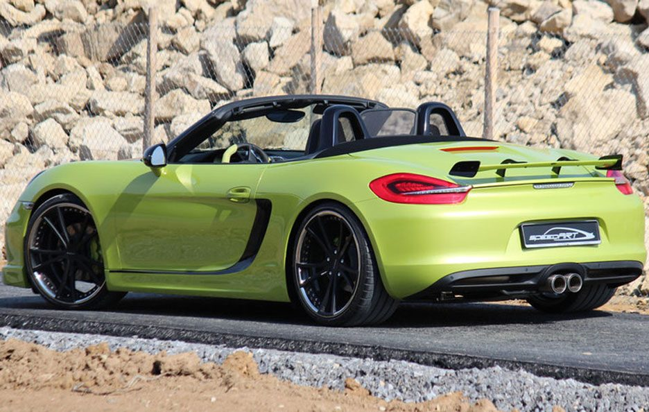 Porsche Boxster e Boxster S by Speed Art - 21