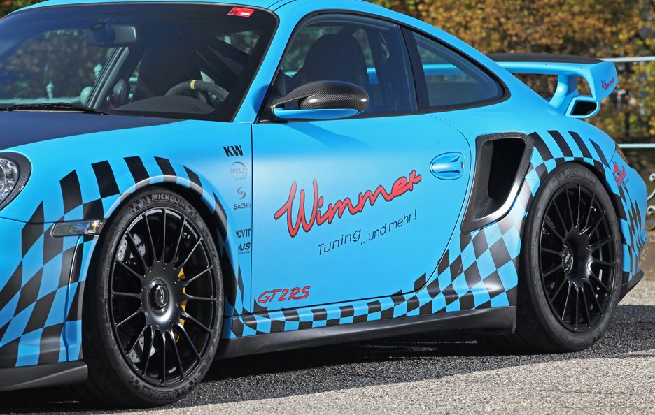 Porsche GT2 RS Muscle Play by Wimmer RS - Fiancata