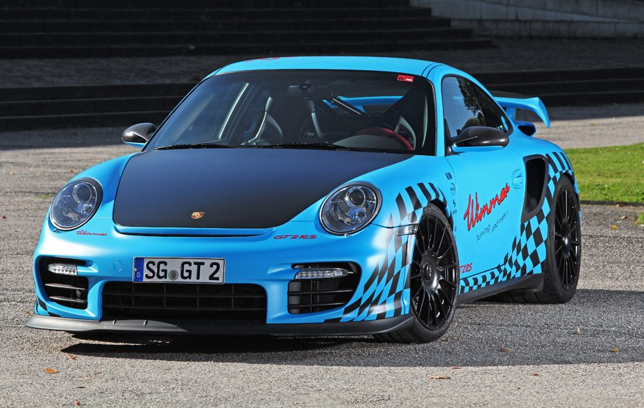 Porsche GT2 RS Muscle Play by Wimmer RS - Frontale