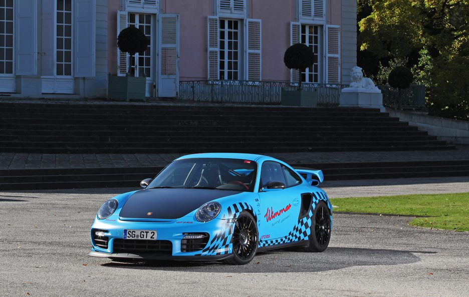 Porsche GT2 RS Muscle Play by Wimmer RS - Linee