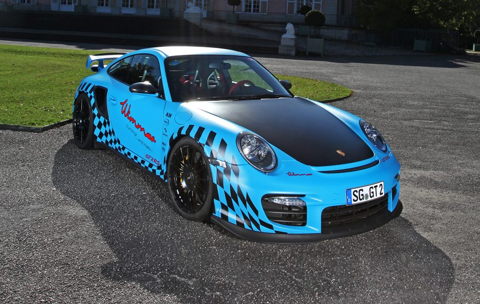 Porsche GT2 RS Muscle Play by Wimmer RS -Profilo alto