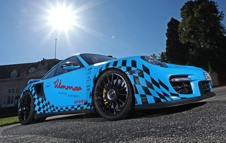 Porsche GT2 RS Muscle Play by Wimmer RS - Profilo frontale basso