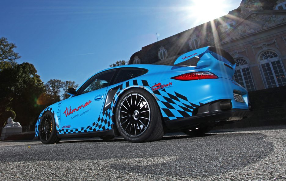 Porsche GT2 RS Muscle Play by Wimmer RS - Profilo posteriore basso