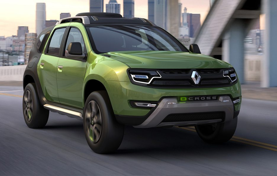 Renault DCross - Frontale