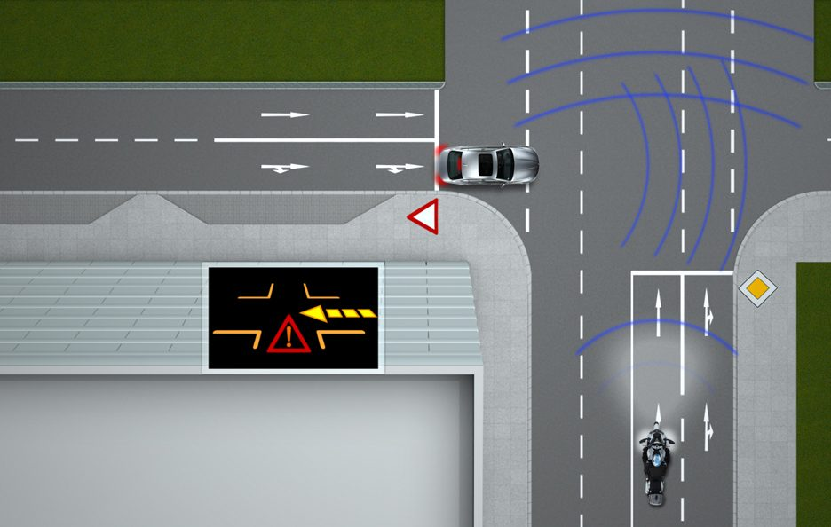 Traffic Light Assistant (Red light warning) by BMW