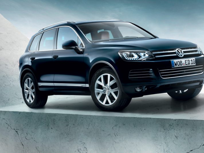 Volkswagen Touareg special model Edition X