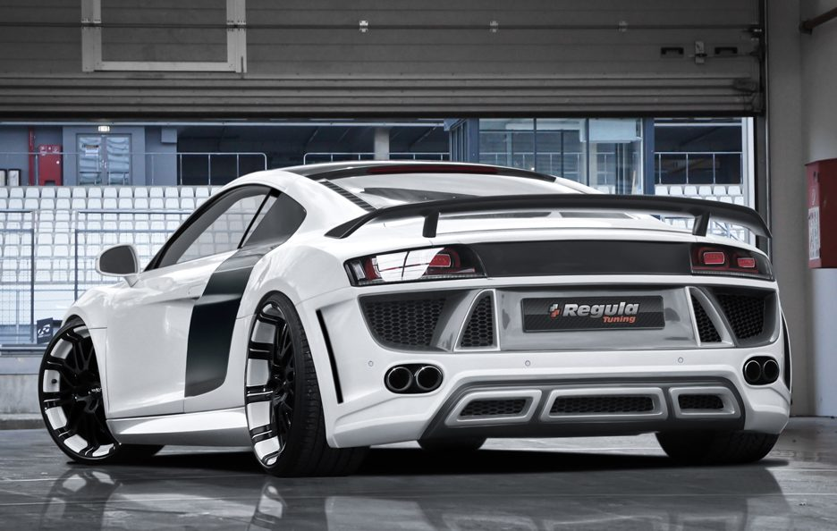Audi R8 by Regula Exclusive - Il posteriore