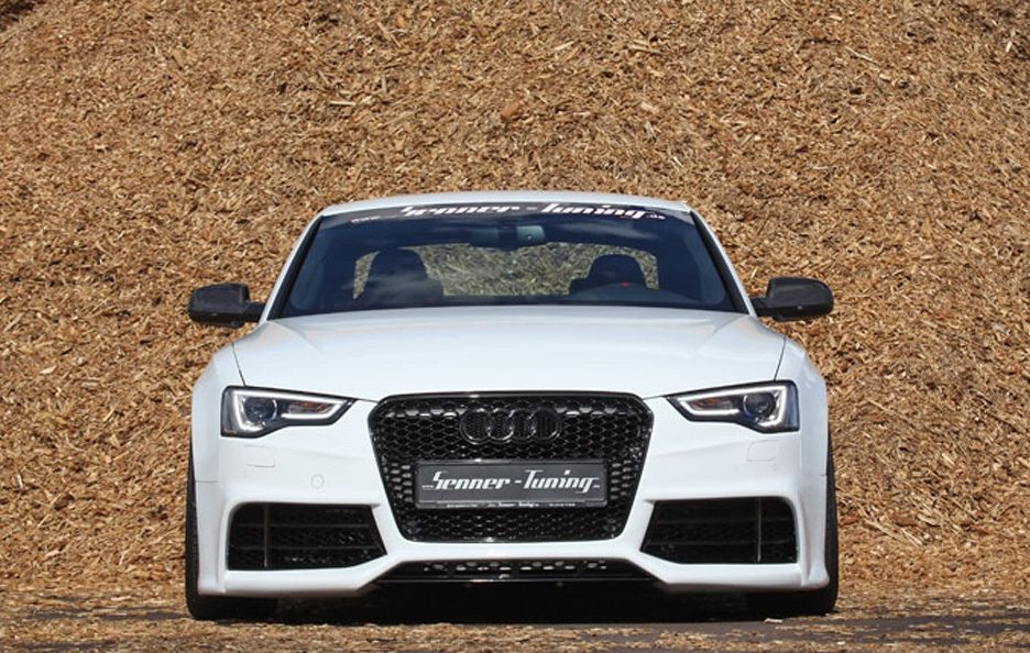 Audi S5 Coupe by Senner - Frontale