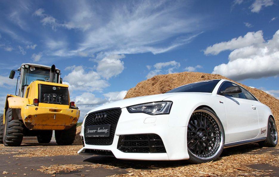 Audi S5 Coupe by Senner - Profilo frontale basso
