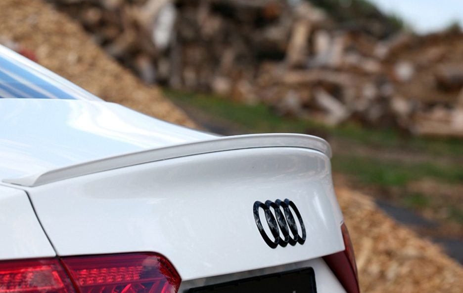 Audi S5 Coupe by Senner - Spoiler