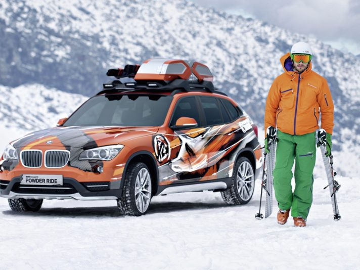 Los Angeles 2012: BMW Concept K2 Powder Ride