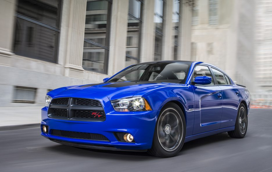 Dodge Charger Daytona 2013 - Il profilo frontale in motion