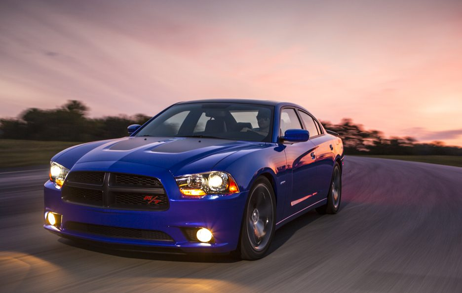 Dodge Charger Daytona 2013 - Profilo frontale in motion