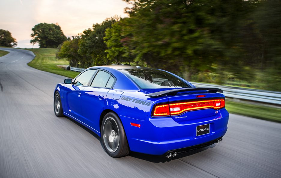 Dodge Charger Daytona 2013 - Profilo posteriore in motion