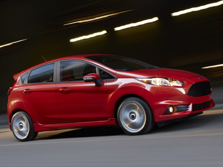 Ford Fiesta ST - Laterale in motion