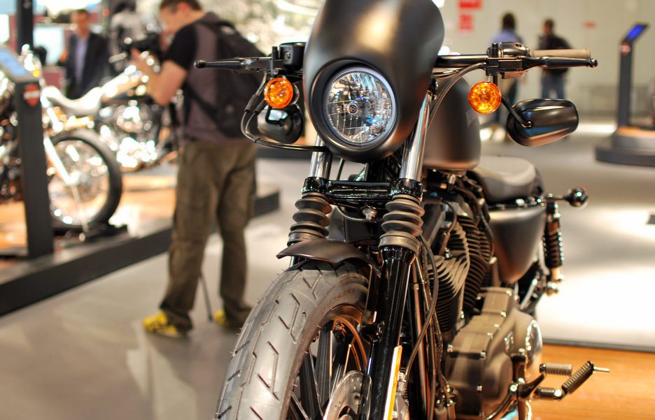 Harley Davidson Iron 883 Special Edition - Frontale - EICMA 2012