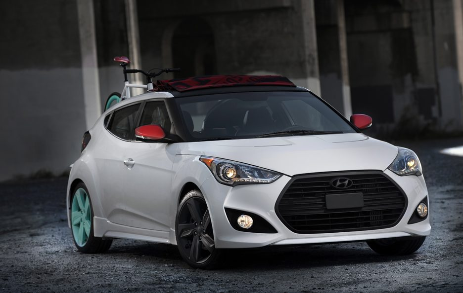 Hyundai Veloster C3 Roll Top Concept - Frontale