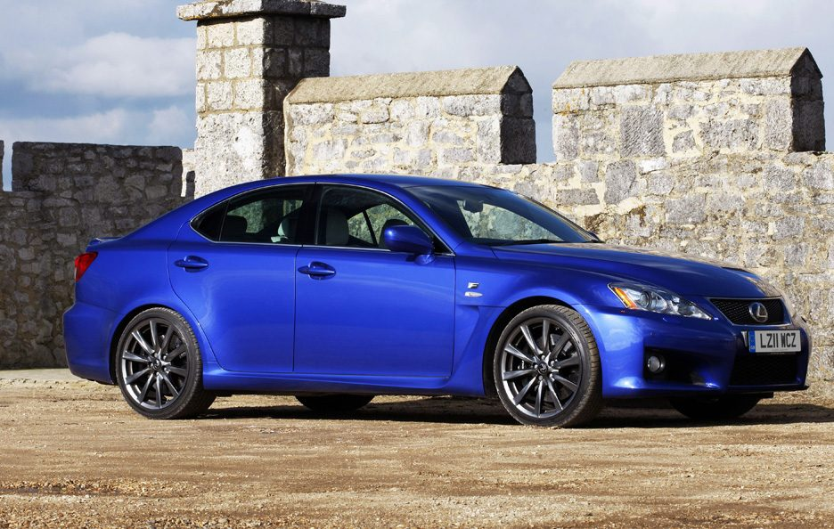 Lexus IS F restyling